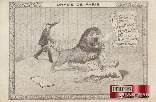 Circus -Collection: Bouglione début du 20 ème siècle