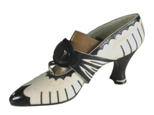 Art Deco Shoes - 1920's - Paris.