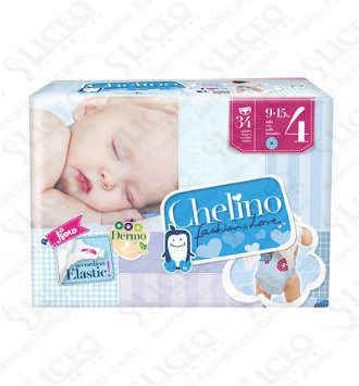 PAÑAL INFANTIL CHELINO FASHION and LOVE T- 4 (9 -