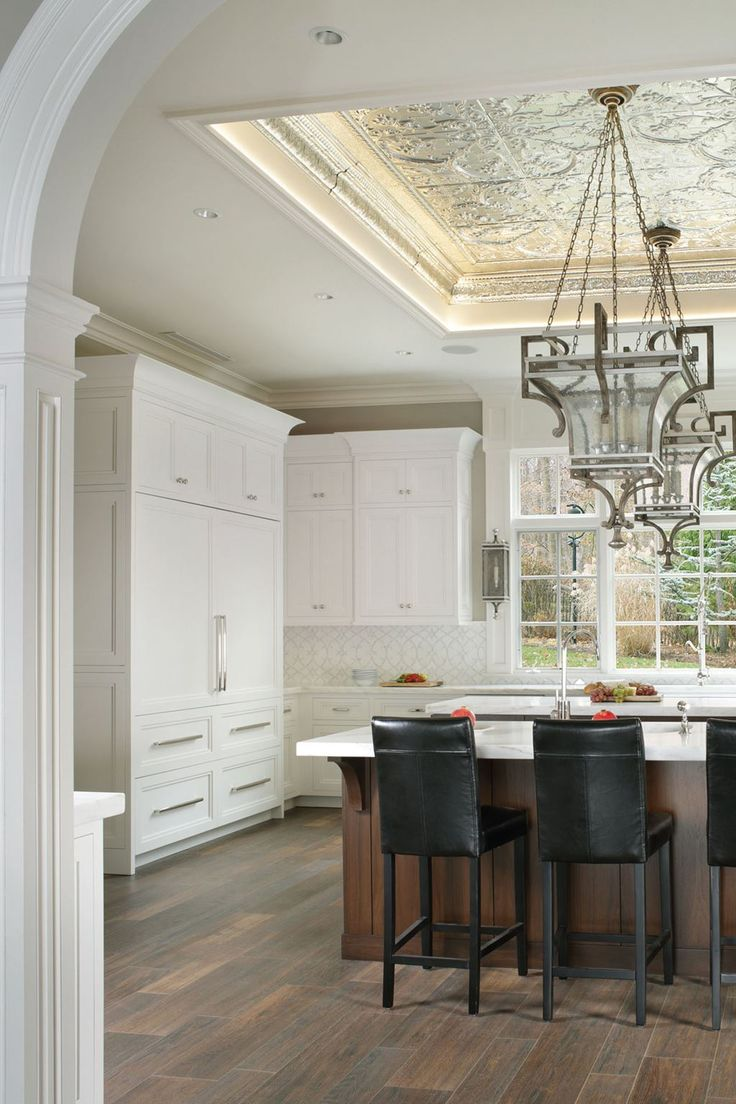 Transitional Elegance Kitchen Cabinet Ideas Pinterest