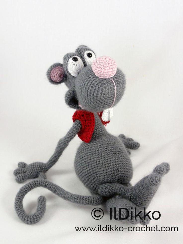 13 best Maus mouse crochet images on Pinterest | Juguetes de ...