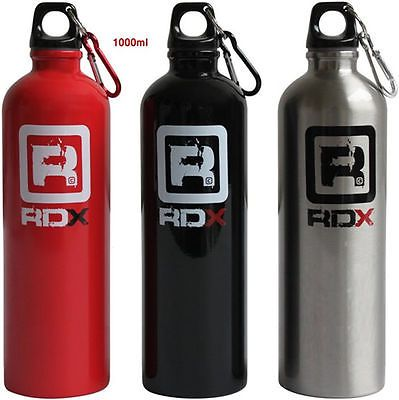 RDX Aluminium Sports Gym Bottle 1000ml / 600m...