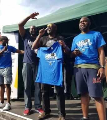 PHOTOS: Senator Dino Melaye Rocks The Beat At Nottinghill Carnival