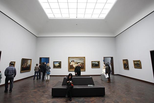 """Johann Heinrich Wilhelm Tischbein """"Goethe in der römischen Campagna"""" im Städel Museum Frankfurt am Main"""