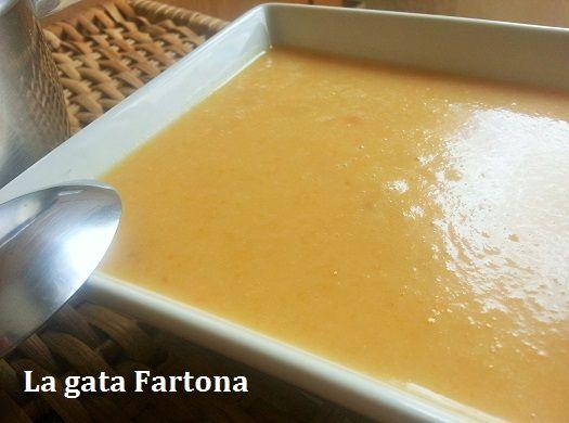 La gata Fartona. Pasión por lo bueno: Crema de calabacín y zanahoria
