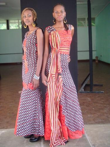 Ethnic African Lace Dresses Khanga Lace Dresses African Fashion Styles African Clothing 21st