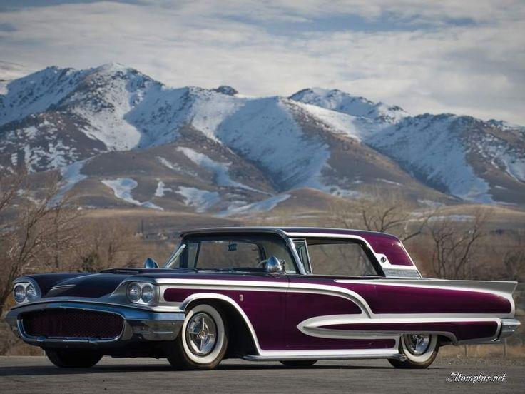 Американские ретро автомобили 70-80 годов 6