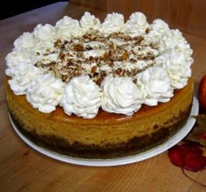 "Cheesecake Factory Pumpkin Cheesecake: ""I made this exactly the way the recipe said, and it turned out flawless — no cracks, no sinkholes. The whole family came back for seconds!"" -seagurl94"