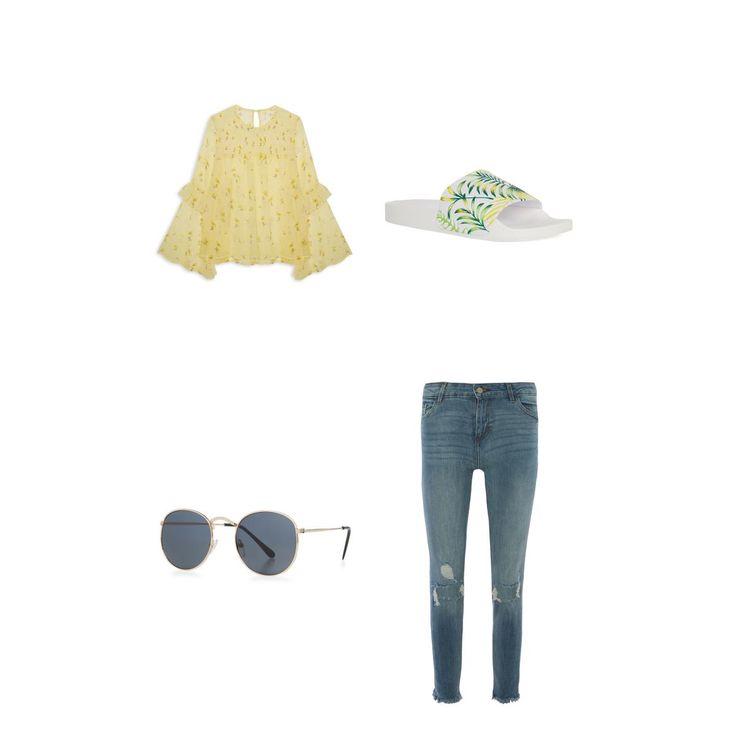 Bekijk mijn outfit op de Primark-website @primark #primarkoutfitsamensteller #primarkoutfitwedstrijd http://www.primark.com/nl/outfits/125802,gele-zomer
