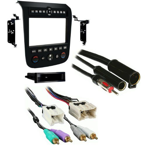 Metra 99-7612B Single/Double DIN Stereo Installation Dash Kit for 2003-2007 Nissan Murano with Antenna Adapter & Wiring Harness(with Bose )  http://www.productsforautomotive.com/metra-99-7612b-singledouble-din-stereo-installation-dash-kit-for-2003-2007-nissan-murano-with-antenna-adapter-wiring-harnesswith-bose/