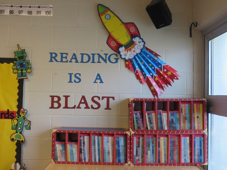 Classroom Decoration Ideas For Grade ~ New reading area space theme deb s first grade