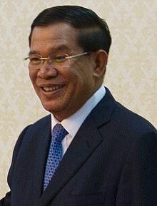 """Hun Sen - """"prime minister"""" of Cambodia since 1998"""