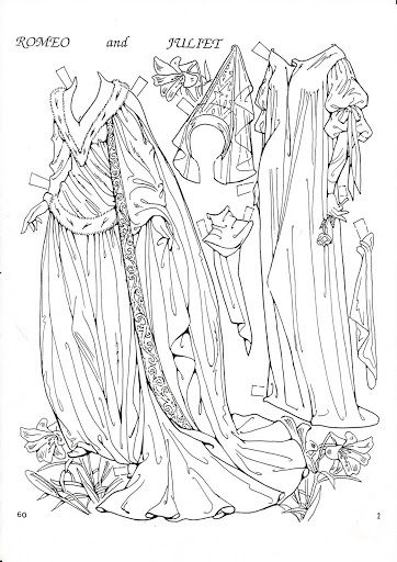 romeo and juliet coloring pages - photo#29