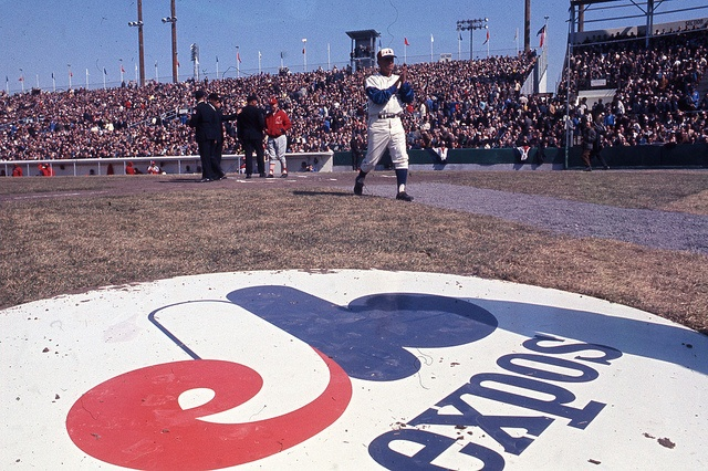 First official Expos match, Montreal's Baseball team, 1969
