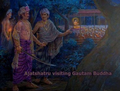 ajatshatru and ashoka relationship questions