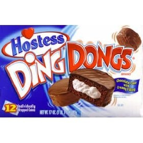 Hostess Ding Dongs  BRAND NEW! GET THEM NOW! SHIPS FAST!
