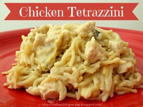 A very easy and delicious recipe for Chicken Tetrazzini from The Best Blog Recipes! Our family loves this dinner and so will yours!