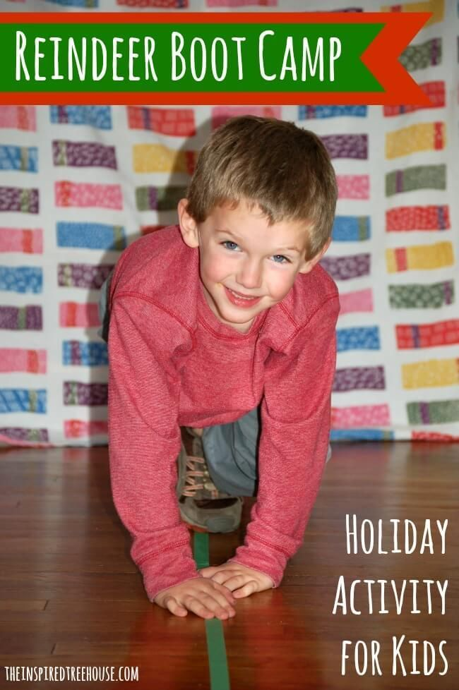 Reindeer Boot Camp: 6 Holiday Gross Motor Activities for ...