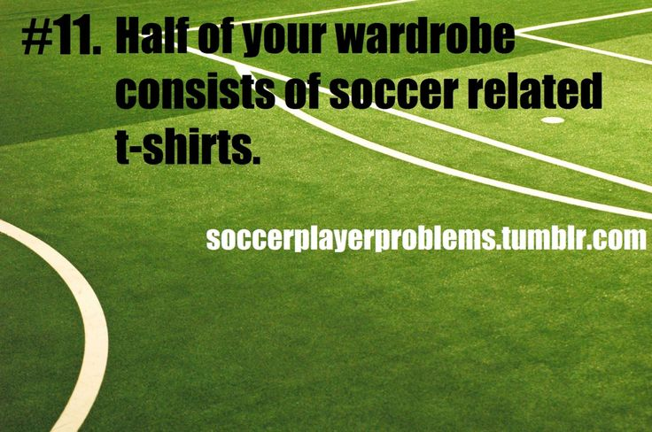 Soccer Player Problems: Photo