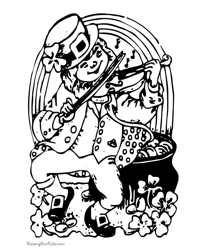 Drawings of Leprechaun   Leprechaun, Drawings, Coloring pages