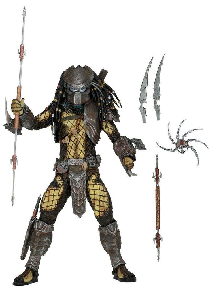 Predator - 7″ Scale Action Figure - Temple Guard Predator - Alien vs Predator Movie Series 15 Assortment - NECA 51530