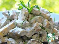 Вкусный, диетический салат из кабачков ингредиенты