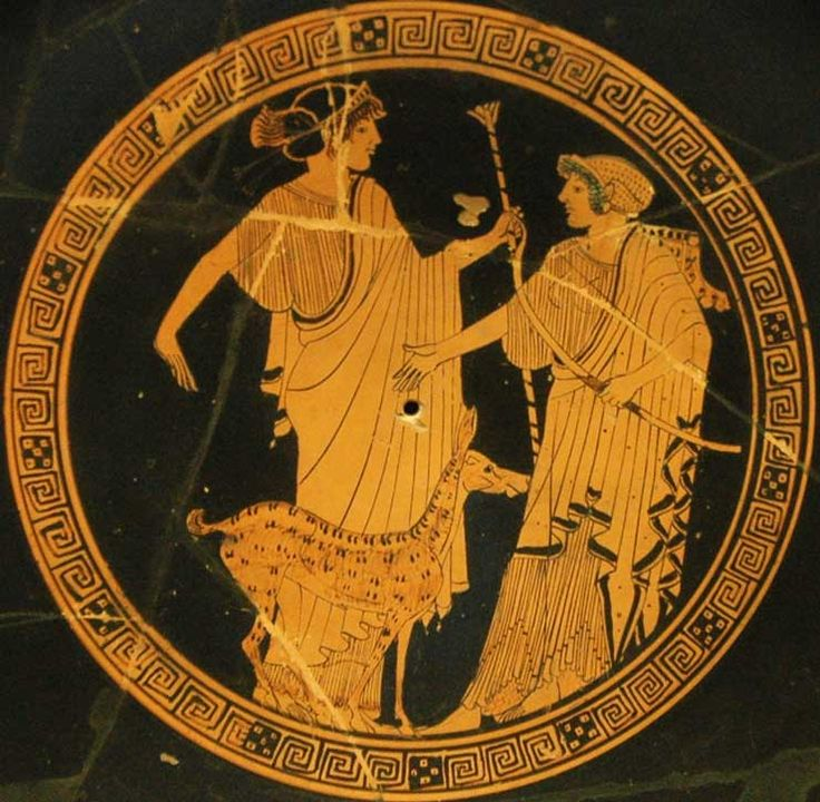 Apollo and Artemis, Brygos Louvre G151 | Jenny Packham ...