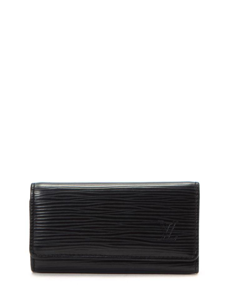Louis Vuitton Black Key Case - Vintage