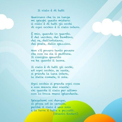Il cielo è di tutti di Gianni Rodari