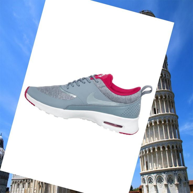 Nike Air Max Thea Grigio Rosa Scarpe Da Corsa Donne,Wearing trainers will have a nice day.