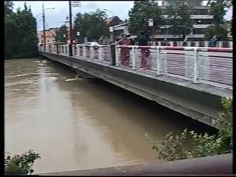 Czech Republic flood - Povodeň Uherské Hradiště 1997