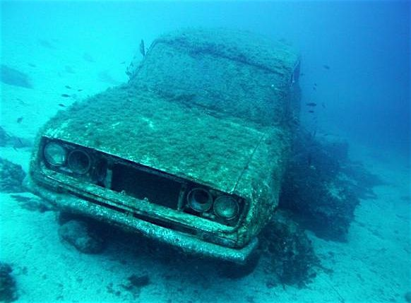 Cars Found Underwater : Images about underwater discoveries on pinterest