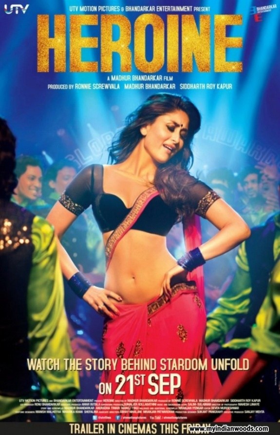 Heroine is an upcoming Indian film directed, written, and co-produced by Madhur Bhandarkar. Revolving around the life of a once successful film actress, Mahi Arora, whose career is on the decline, the film features Kareena Kapoor as the protagonist along with actors Arjun Rampal, Randeep Hooda and Rakesh Bapat. Additionally, the project also stars Shahana Goswami, Divya Dutta, Helen, Shillpi Sharma, Mugdha Godse and Lillete Dubey in supporting roles.