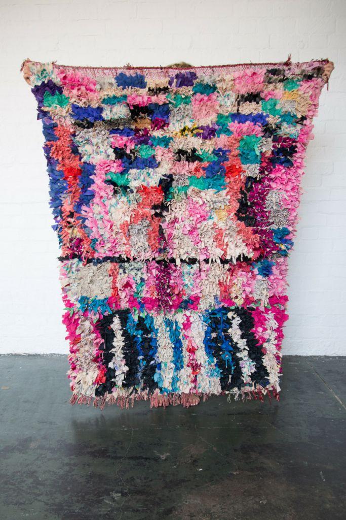 FLAMENCO Boucherouite rug