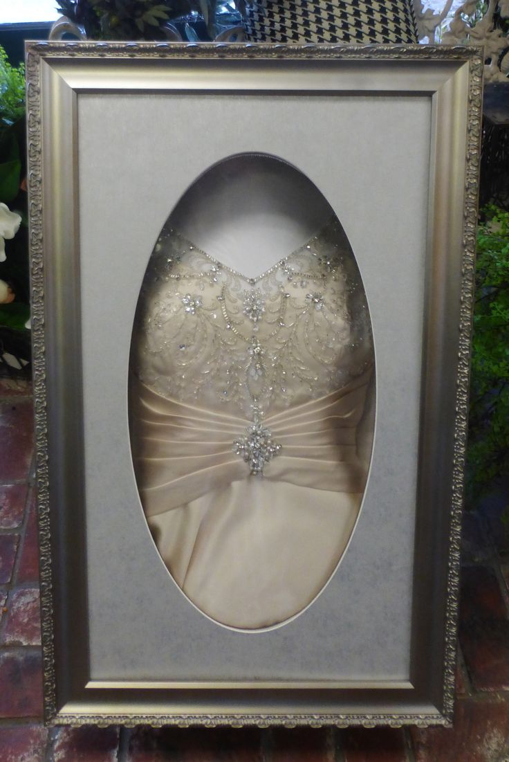 wedding dress shadow box we cleaned and heirloomed this gown then made a custom 9253