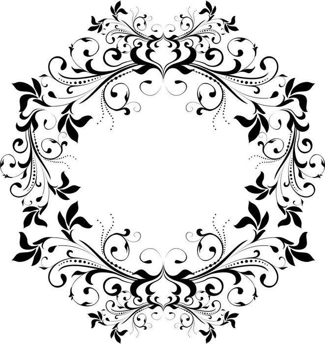 Элементы декора монохромные. Обсуждение на LiveInternet - Российский Сервис Онлайн-Дневников