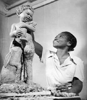 Born 2/29/1892, sculptor Augusta Savage fought poverty, racism and sexism to become a prominent figure in the Harlem Renaissance. Her extraordinary talent opened many doors that led to her becoming one of the most influential black teachers of her time and a strong voice for civil rights for blacks.