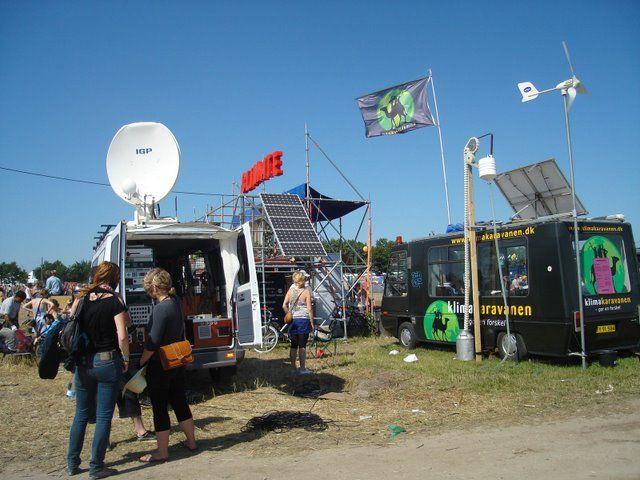 Solceller - Roskilde festival
