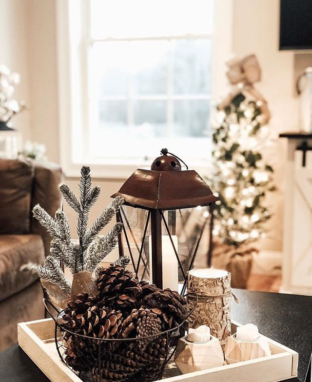 Nice Centerpiece Seasonal Home Decor Christmas Coffee Table Decor Decorating Coffee Tables