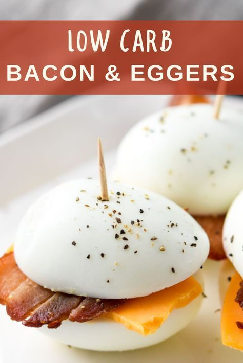 Low Carb Bacon Eggers Recipe Slimming World Pinterest