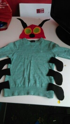Hungry caterpillar costume                                                                                                                                                                                 More