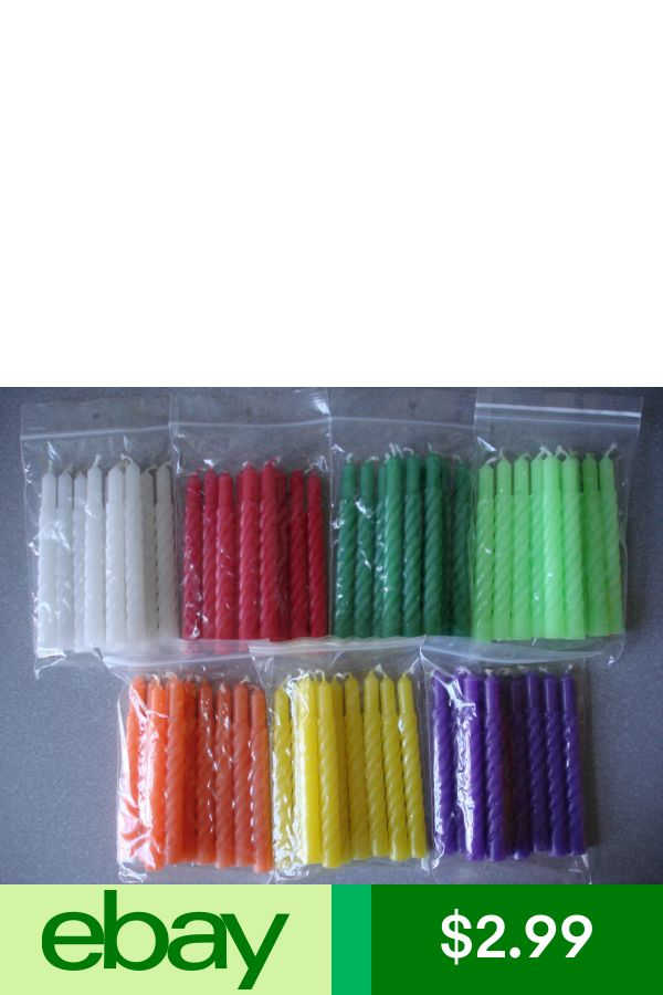 Choice Colors 10 pcs Spiral Candles for Christmas Tree Clip Candle Holders