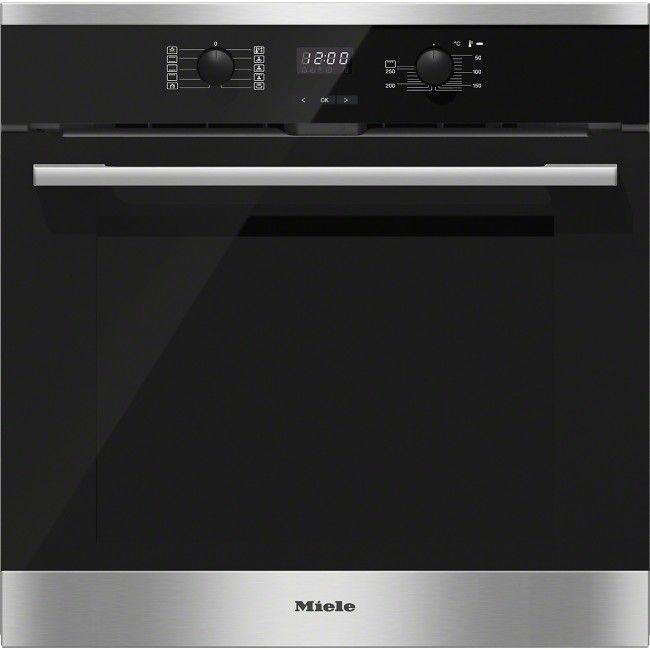 MIELE BUILT IN ELECTRIC OVEN PYROLYTIC SELF-CLEANING FUNCTION.   #miele #oven #electricoven #atlanticelectric