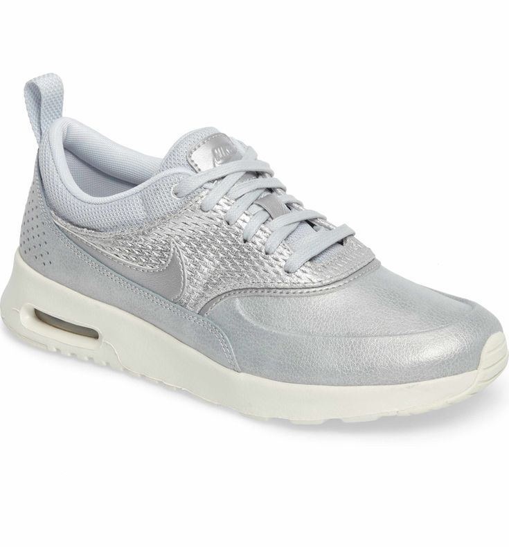 Nike Air Max Thea Premium Sneaker (Women), Color: Platinum, Size: 8