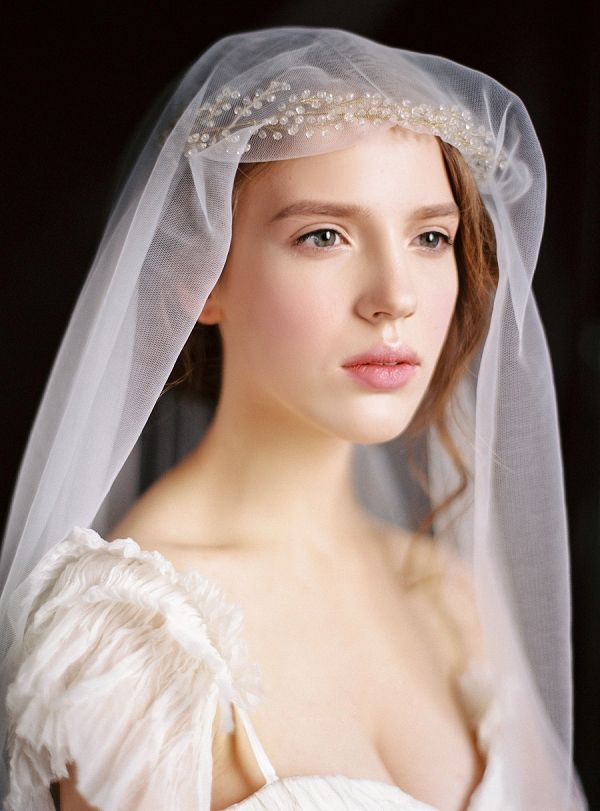 Bride with a Veil | Nastia Vesna Photography on @bajanwed via @aislesociety