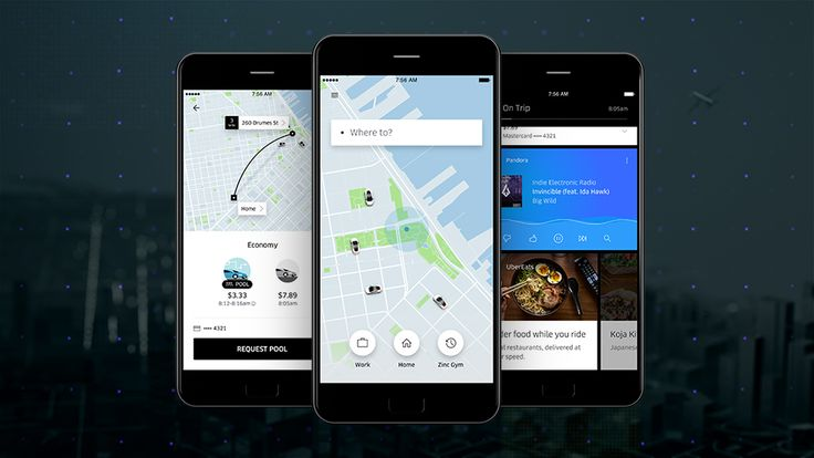 Uber's app redesign makes it easier to meet up with friends