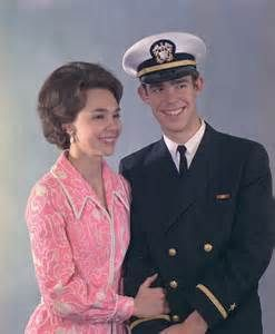 Julie Nixon Eisenhower and husband David Eisenhower. She is the daughter of President Richard Nixon, her son is also the great-grandson of President Dwight Eisenhower.