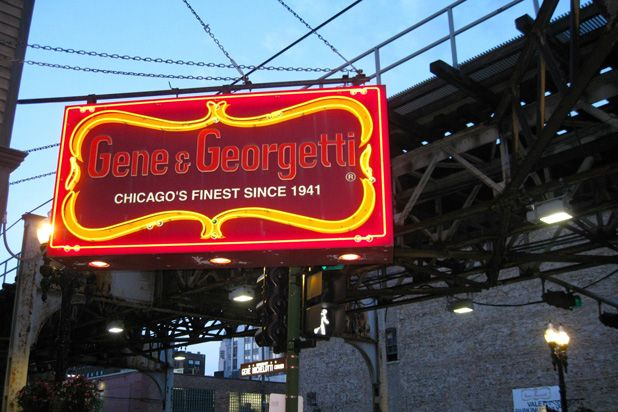 """America's 50 Best Steakhouses-GENE & GEORGETTI, CHICAGO The poet Carl Sandburg called Chicago the """"Hog Butcher for the World"""" — but its famous stockyards were long known as a source of great beef, too, and since 1941 this old-style Italian-flavored steakhouse (start your meal with Italian sausage and peppers, minestrone, or fried ravioli) has done beef proud. The steaks are broiled and dependably good; the bone-in filet mignon is not to be missed."""