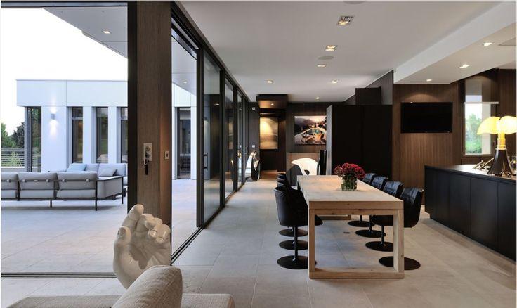 Innenarchitektur inneneinrichtung wohnen moderne einrichtung villen moderne architektur fancy häuser esszimmer spielplätze