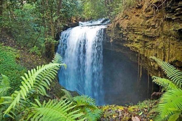 As muitas cachoeiras fazem de Mambaí um ponto de encontro de adeptos do…